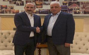 الجربا يلتقي مستشار ورئيس جهاز الأمن الوطني العراقي فالح الفياض…