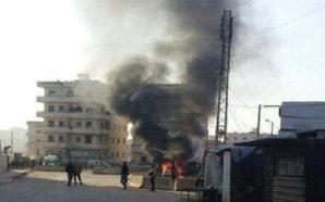 مقتل وإصابة العشرات جراء مفخخات انفجرت في مدينتي عفرين والحسكة