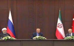 اتفاق تركي روسي إيراني على دعم الحل السياسي في سوريا…