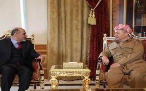 مسعود البارزاني يستقبل أحمد الجربا لبحث آخر المستجدات في سوريا…