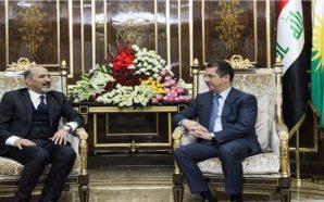 أحمد الجربا يناقش مع مسرور البارزاني مستجدات الوضع في سوريا