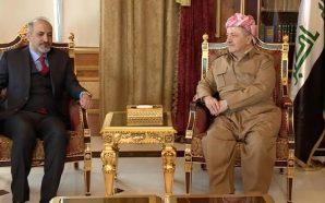 الرئيس مسعود البارزاني يعزي هاتفيا الشيخ أحمد الجربا بوفاة والدته