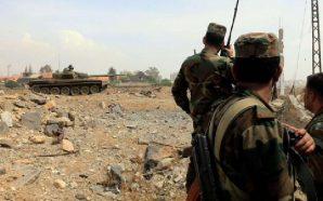 عناصر من الجيش العربي السوري في الجزيرة السورية