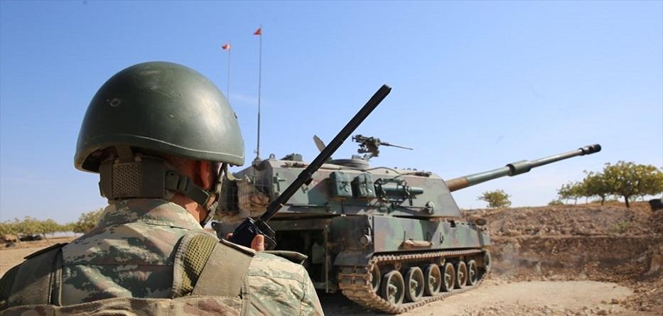 مدفعية تركية تقصف مواقع ودات حماية الشعب في محافظة السكة - 19 تشرين الأول 2019