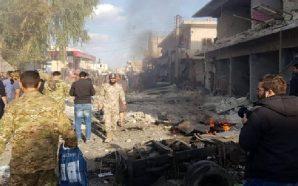 ارتفاع عدد ضحايا انفجار مفخخة تل أبيض