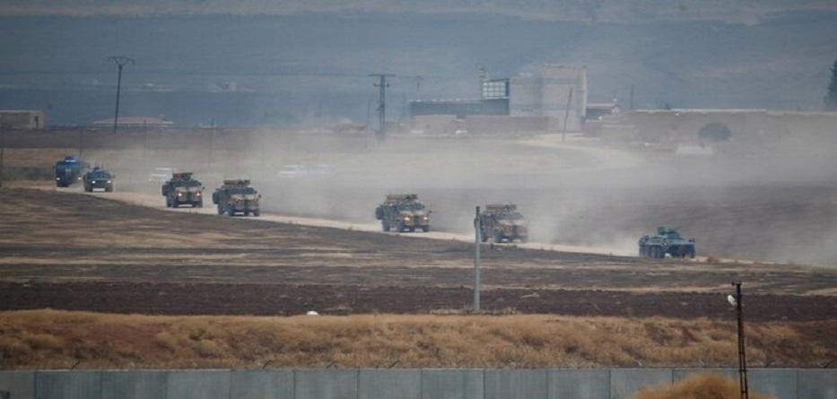 دورية روسية تركية على الحدود السورية التركية - 1 تشرين الثاني 2019