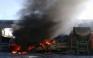 عشرات القتلى والمصابين بانفجار مفخخة في تل أبيض وقوات النظام…