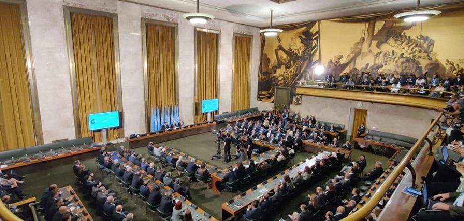 من اجتماعات اللجنة الدستورية السورية - جنيف 30 تشرين الأول 2019