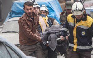 مجازر جديدة بريف حلب الغربي والدفاع المدني يحذر من كارثة…