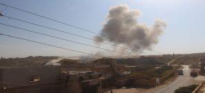 قصف صاروخي على بلدة الفطيرة المحررة بريف إدلب - 20 نيسان 2020