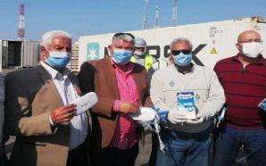 مفتشو الجمارك في بورسعيد يضبطون شحنة مخدرات قادمة من سوريا - 13 نيسان 2020