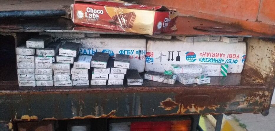 السلطات العراقية تضبط أدوية مهربة من سوريا - 17 أيار 2020