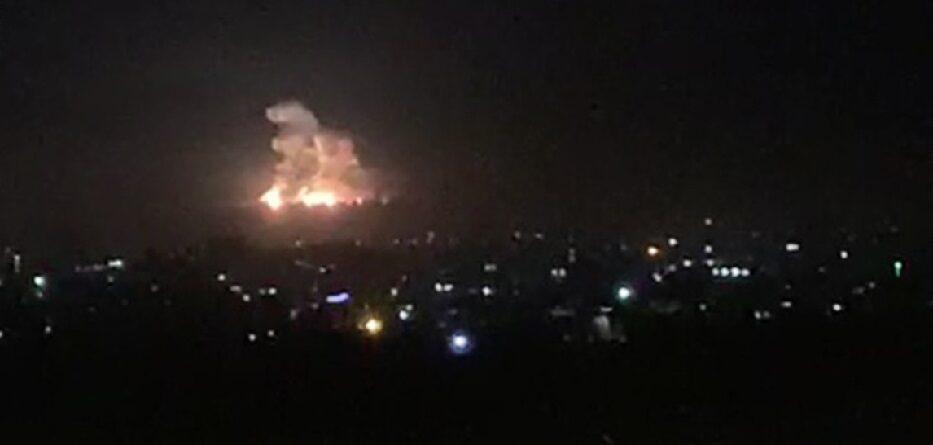 غارات إسرائيلية على مواقع عسكرية في حلب - 5 ايار 2020
