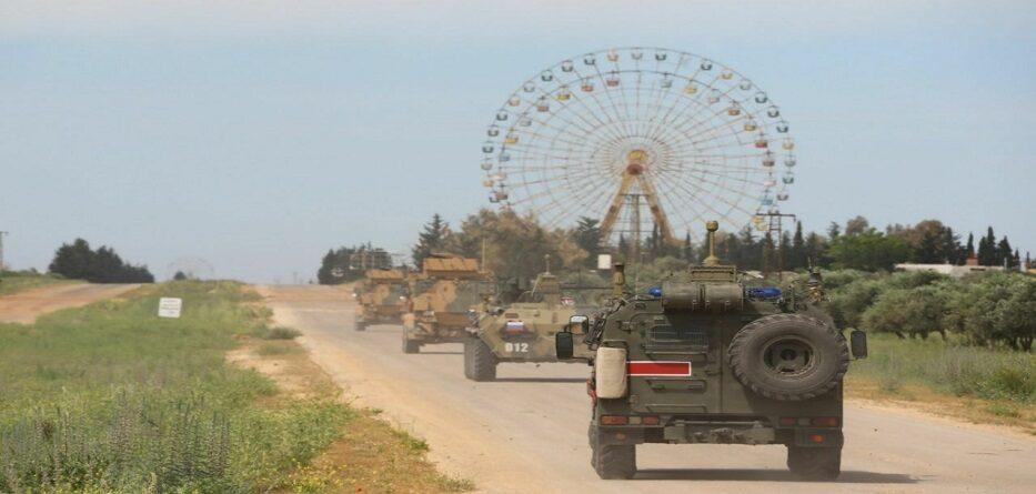 دورية روسية تركية في ريف إدلب الشرقي - 5 حزيران 2020
