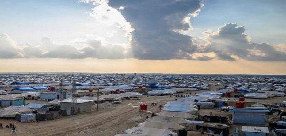 مخيم الهول بريف محافظة الحسكة