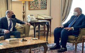 الوزير سامح شكري يستقبل أحمد الجربا لبحث آخر تطورات الوضع…